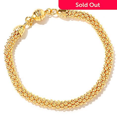 118-313 - Portofino Gold Embraced™ Coreana Chain Bracelet w/ Magnetic Clasp