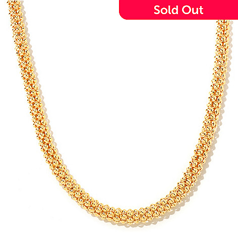 118-315 - Portofino Gold Embraced[ 20'' Coreana Chain Necklace w/ Magnetic Clasp