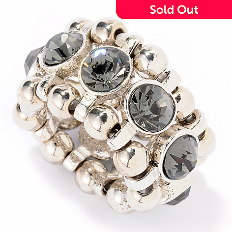 118-327 - The Find Jewelry By Annie G. Rhinestone ''Enchanted'' Adjustable Ring
