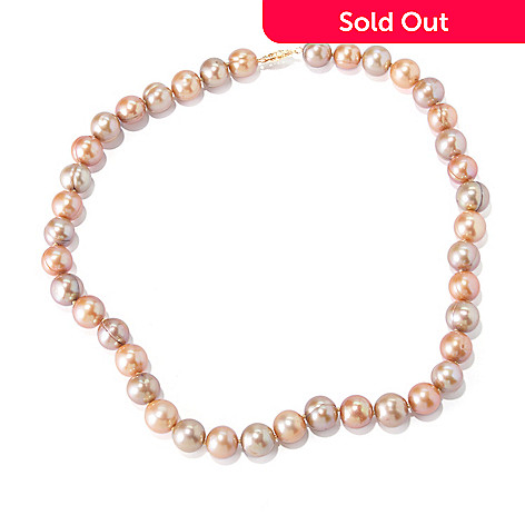 118-668 - 14K Gold 18'' 9-11mm Freshwater Cultured Pearl Necklace