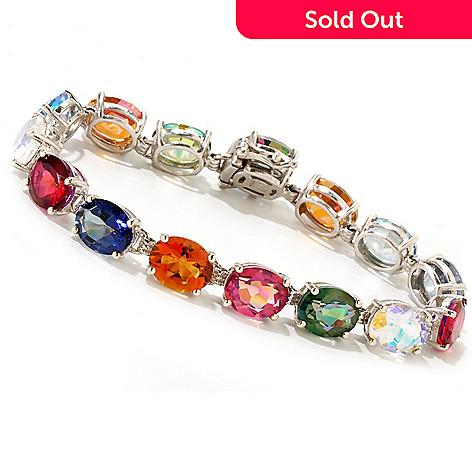 119-050 - NYC II™ Multi Color Quartz Tennis Bracelet