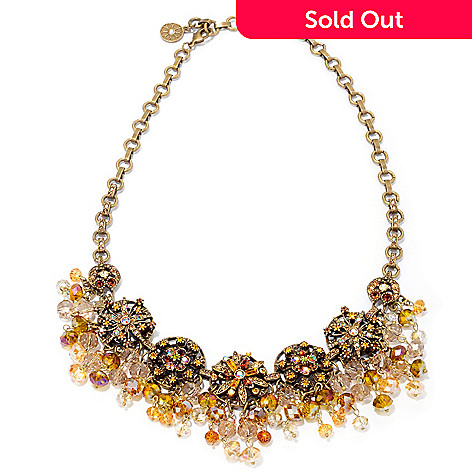 120-067 - Sweet Romance™ 20'' Crystal Pinwheel Collar Necklace
