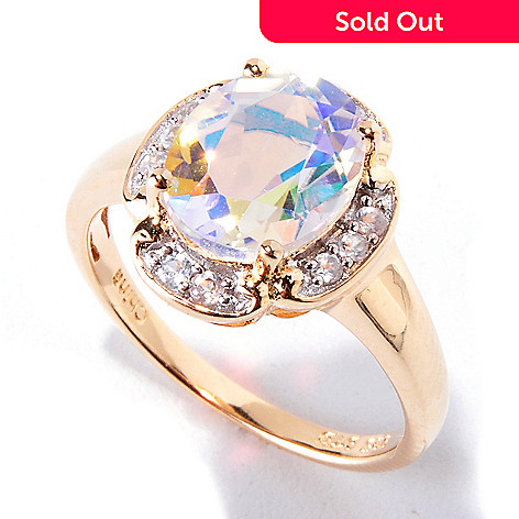 120-581 - NYC II Opulent Quartz & White Zircon Ring