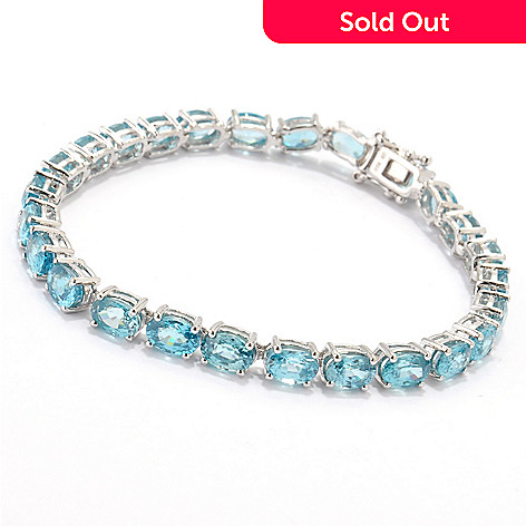 120-587 - NYC II Blue Zircon Tennis Bracelet
