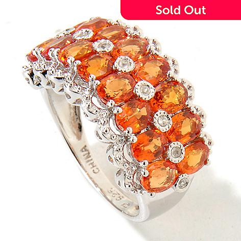 120-651 - NYC II Fancy Sapphire & White Zircon Ring