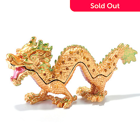 120-731 - 5'' Cloisonné Dragon Collectible