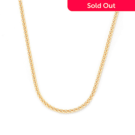 121-202 - Milano Luxe Gold Embraced™ 24'' Bombe Coreana Necklace