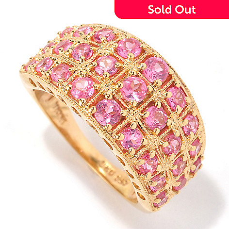 121-367 - NYC II™ 1.65ctw Pink Spinel Band Ring
