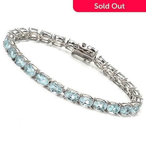 121-585 - NYC II Aquamarine Tennis Bracelet
