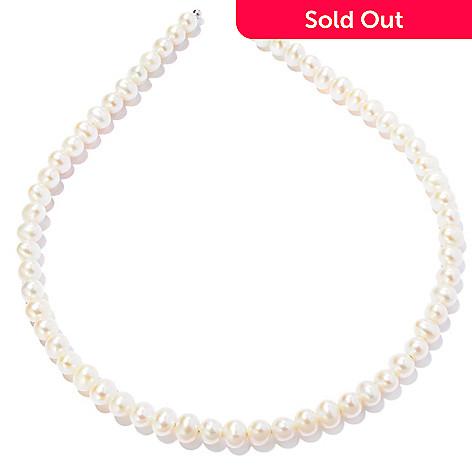 121-637 - 6-7mm White Freshwater Cultured Pearl Headband