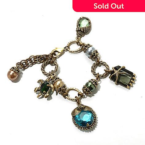 122-236 - Sweet Romance™ 6.5'' NauticalBeachcomberCharm Bracelet