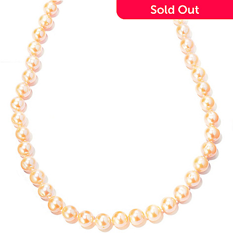 122-250 - 14K 36'' Freshwater Cultured Pearl Necklace