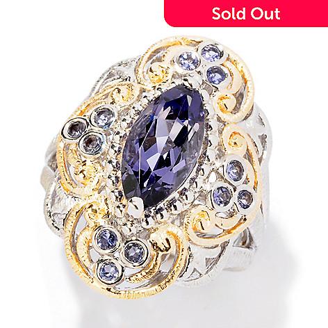 124-939 - NYC II 1.46ctw Marquise Cut Blue Amethyst & Iolite Ring