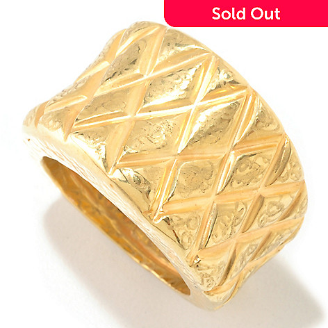 124-976 - Italian Designs with Stefano 14K ''Oro Vita'' Mosaico Ring