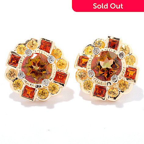 125-145 - NYC II™ Exotic Topaz & Multi Gemstone Stud Earrings