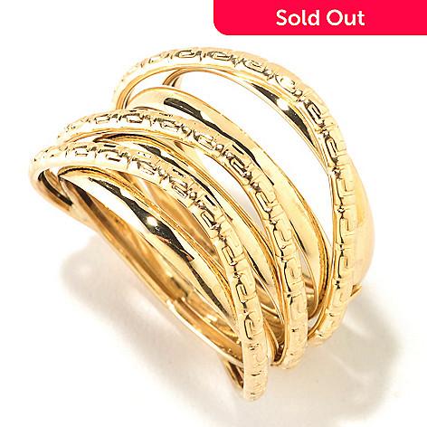 125-810 - Italian Designs with Stefano 14K Gold Riva Oro Ring