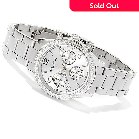 126-175 - Brilliante® 1.26 DEW Women's Quartz Stainless Steel Bracelet Watch