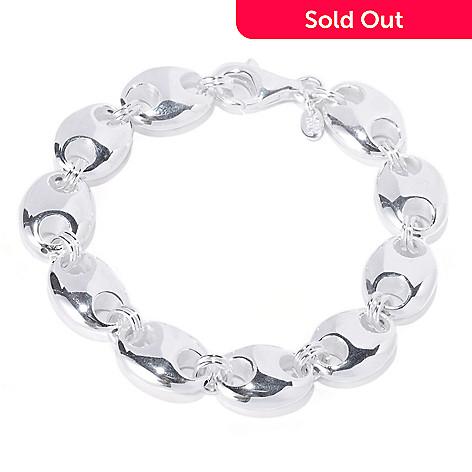 126-443 - SempreSilver™ Polished Marnier Link Bracelet