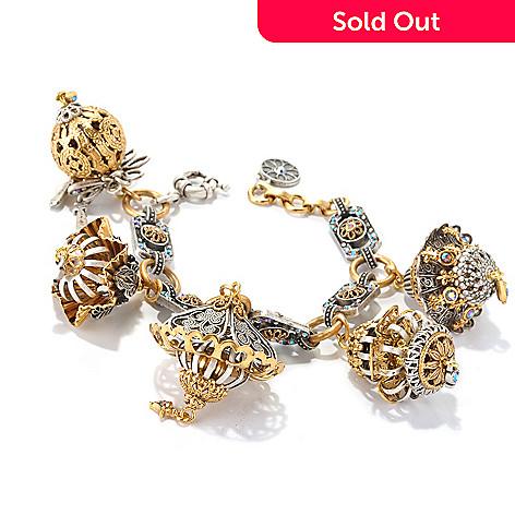 126-533 - Sweet Romance™ 7'' Filigreed Lantern Charm Bracelet
