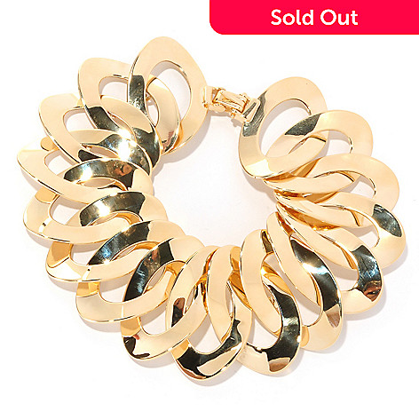 126-893 - Italian Designs with Stefano 14K Gold Opera Unica Bracelet