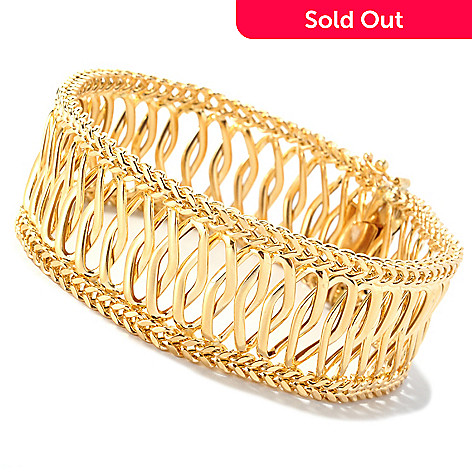 126-894 - Italian Designs with Stefano 14K Gold Bellezza Bracelet