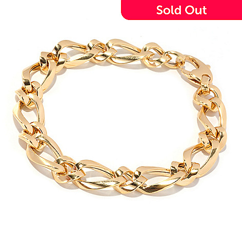126-897 - Italian Designs with Stefano 14K Gold Maison Bracelet