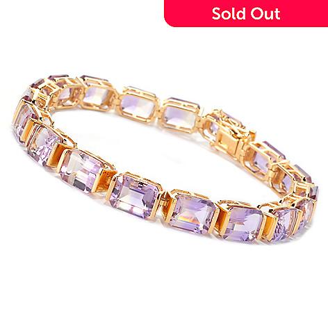 127-082 - NYC II® Emerald Cut Ametrine Tennis Bracelet