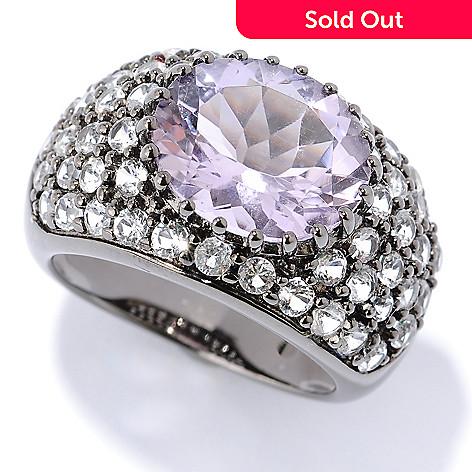 127-310 - NYC II™ 6.11ctw Amethyst & White Topaz Ring