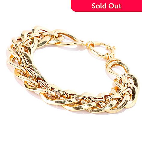 127-376 - Italian Designs with Stefano 14K Gold Bagliori Oro Bracelet