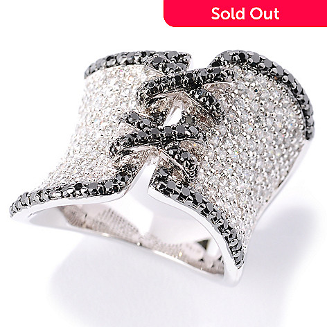 127-420 - Sonia Bitton for Brilliante® Platinum Embraced™ 2.60 DEW Pave Set Corset Ring