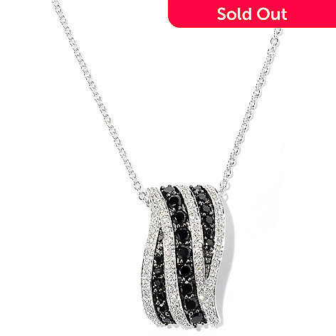 127-604 - Brilliante® Platinum Embraced&trade 2.96 DEW Round Cut Simulated Diamond Slide Pendant