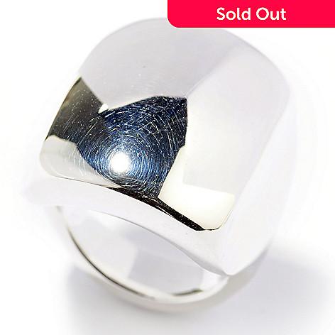 127-984 - SempreSilver® High Polished Rectangular Ring