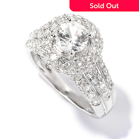 129-429 - NYC II 2.68ctw White Zircon Halo Ring