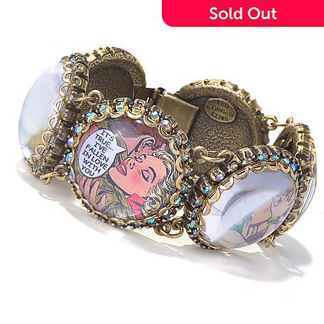 129-903 - Sweet Romance™ 7.5'' Crystal ''Vintage Vixens'' Bracelet