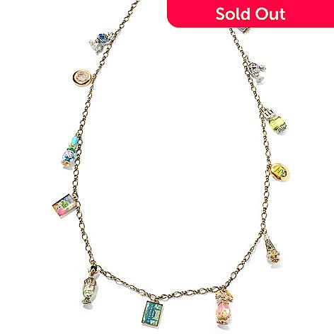 129-905 - Sweet Romance 41'' Perfume Charms & Lockets Necklace