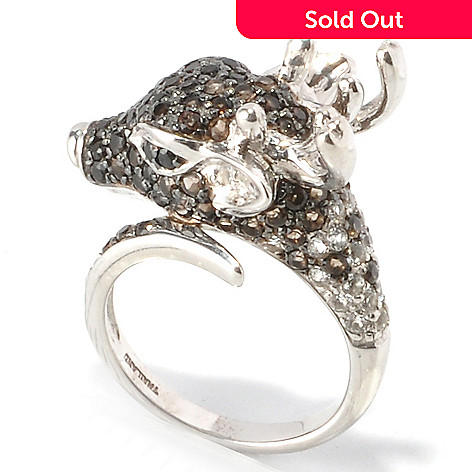 129-969 - NYC II™ 1.47ctw Multi Gemstone Reindeer Ring
