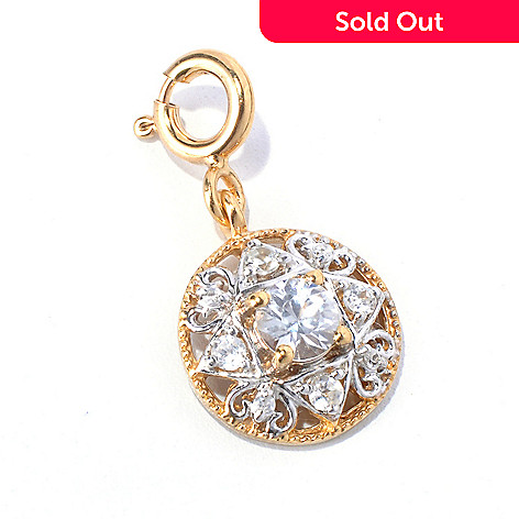 131-020 - NYC II® White Zircon Round Drop Charm