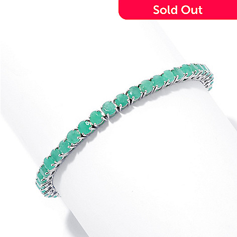 131-071 - NYC II® 4mm Sakota Emerald Prong Set Tennis Bracelet