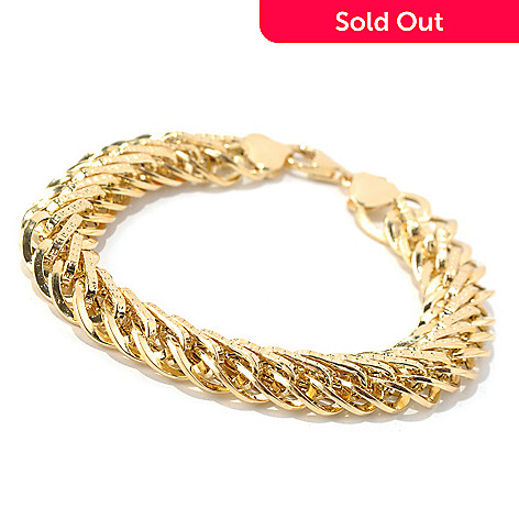 131-366 - Italian Designs with Stefano 14K Gold ''Arpa Oro'' Bracelet