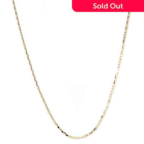 132-836 - Viale18K® Italian Gold Coreana Chain Necklace