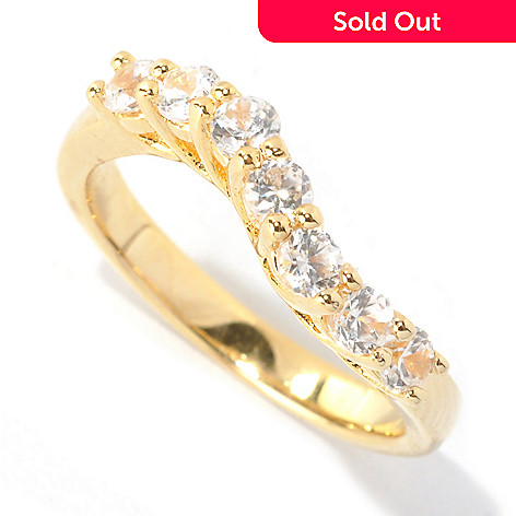 133-514 - NYC II™ 1.25ctw Round White Zircon Wave Band Ring
