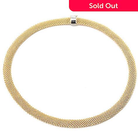 133-550 - Revalé™ 14K Bonded 18'' Mesh Necklace