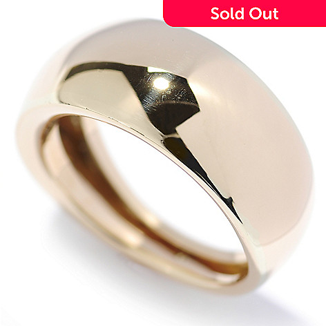 133-831 - Italian Designs with Stefano 14K Gold Polished Band Ring