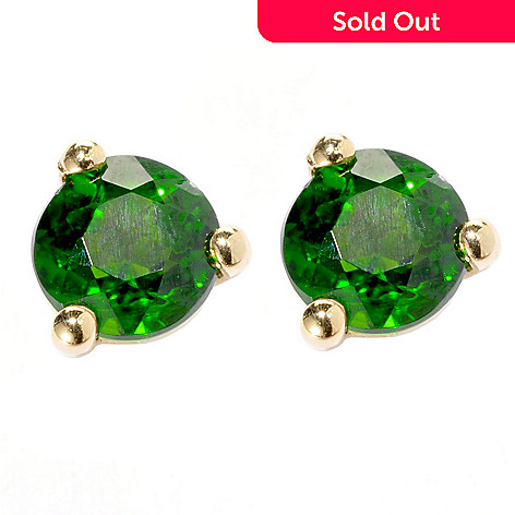 134-339 - NYC II® 4mm Exotic Gemstone Martini Stud Earrings