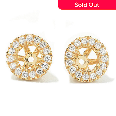 134-494 - NYC II® Pave Set White Zircon Earring Jackets