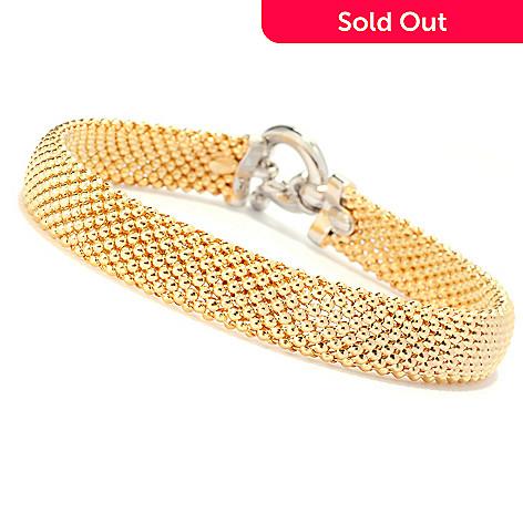 136-203 - Revalé™ 14K Bonded Two-tone Mesh Bracelet