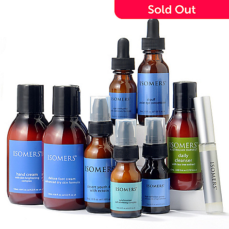 300-015 - ISOMERS 9 Piece Head To Toe Anti-Aging Collection