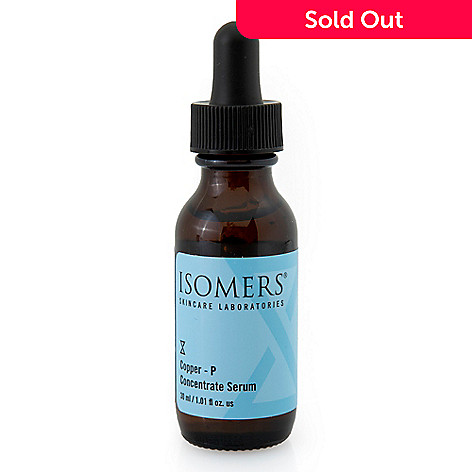 300-036 - ISOMERS® Copper P Concentrate Serum 1 fl oz