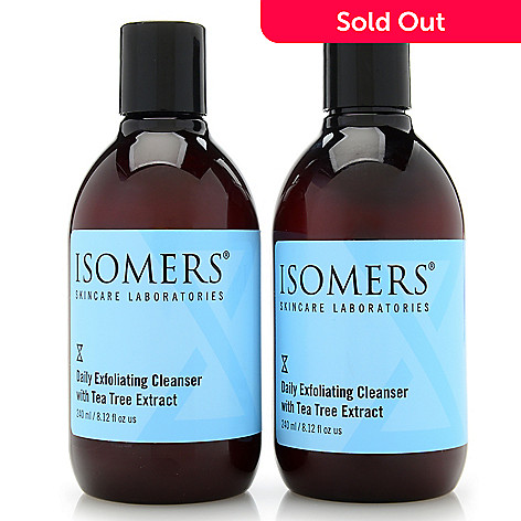 300-049 - ISOMERS Skincare Daily Exfoliating Cleanser Duo 8.12 oz Each