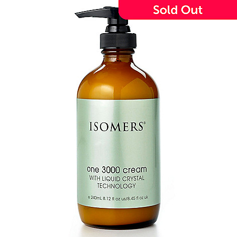 300-270 - ISOMERS ONE3000 Cream For Face w/ Liquid Crystal Bonus 8oz Size
